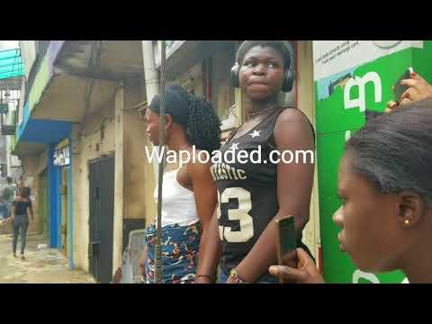 Rioting along Ring Road Benin City, Edo state