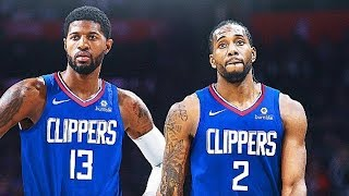 Kawhi Leonard 1st Clippers Practice With Paul George (Parody)