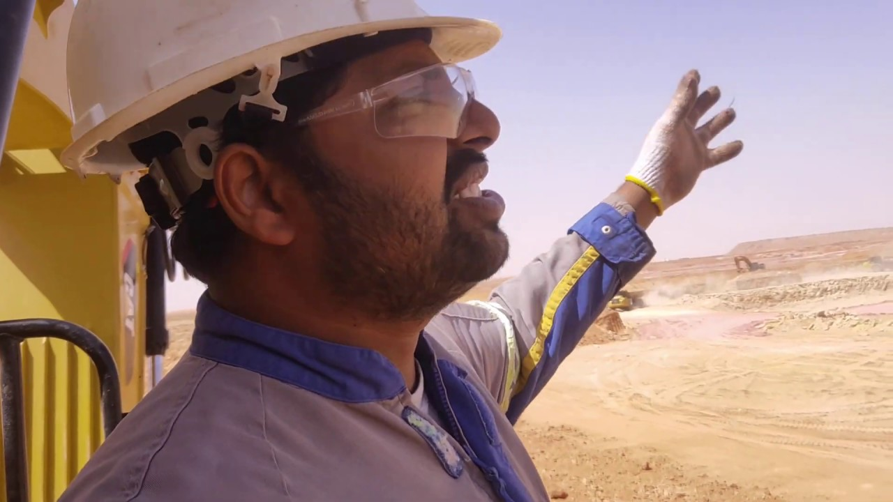 Acting as mining manager