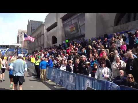 2013 Boston Marathon - The Finish Line