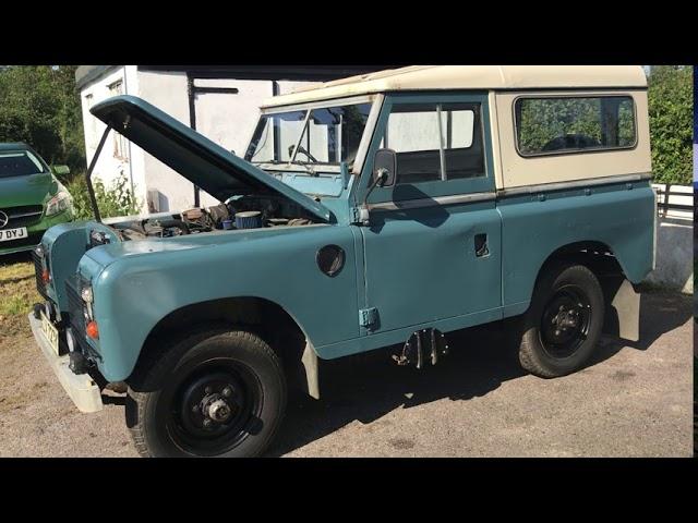 A 1973 Land Rover
