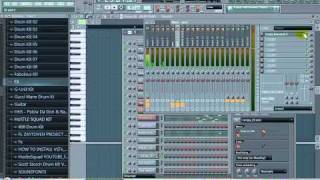 Fl Studio - Gangster City riddim ( with flp download)