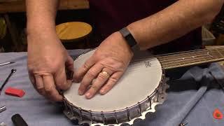 Dean Backwoods 6 string Banjo Setup