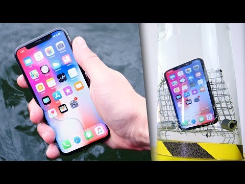 Thumbnail: iPhone X Water Test! Extreme Conditions