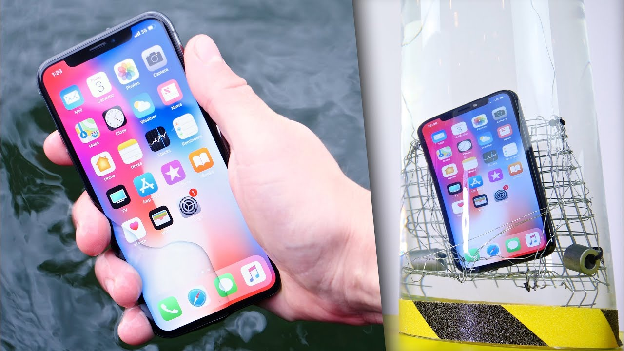 huge selection of 18378 356df iPhone X Water Test! Extreme Conditions
