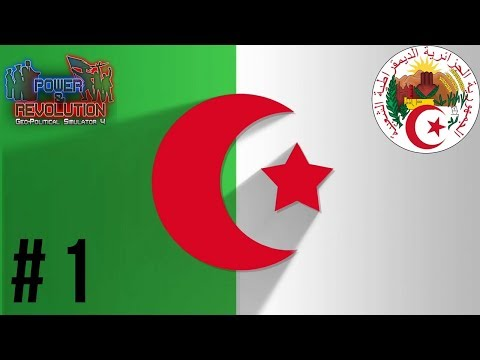 ALGERIA - Episode 1: A NEW AFRICA - Power & Revolution Geopolitical Simulator 4 Gameplay