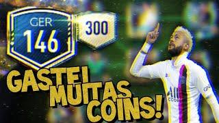 GASTEI 30 MILHÕES DE COINS E ALCANCEI O OVER 146! UPyUP EP.23 | FIFA MOBILE 20.