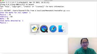 Class 11 IP(065) Introduction to Python programming part 12 by Meenakshi Mam