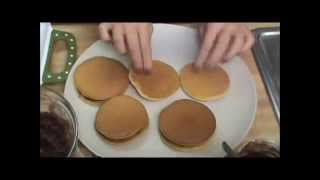 Korean Food - How To Make Dorayaki