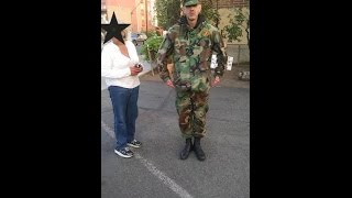 Fake Marine In Reno, Gets Called Out By Female Claims He Is On High Alert
