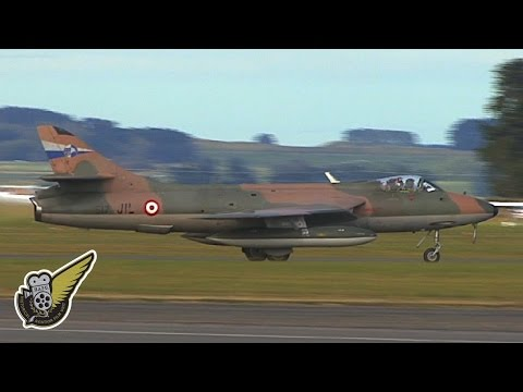 Hawker Hunter at RNZAF Ohakea