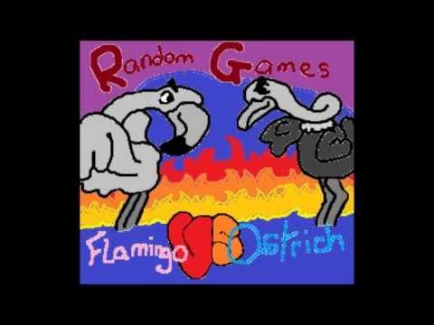 Random Games Episode 1: Robot Unicorn Attack Flamingo vs. Ostrich! thumbnail