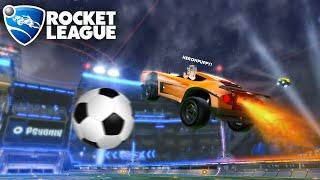 Arabalar ile Futbol Oynuyoruz!! Gol Atan Kazanır - Panda ile Rocket League