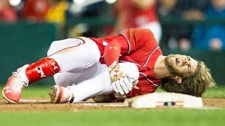MLB Players Slipping (HD)