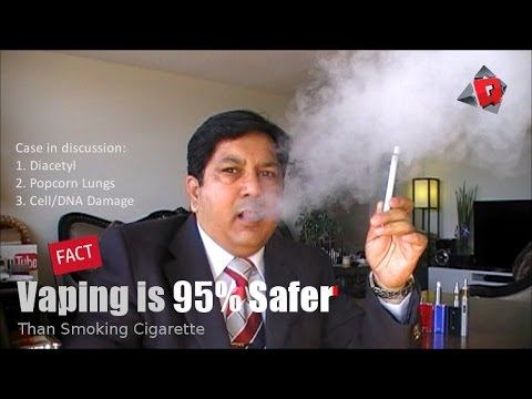 Diacetyl, Popcorn Lungs, Cell death | Baloney. FACT: Vaping