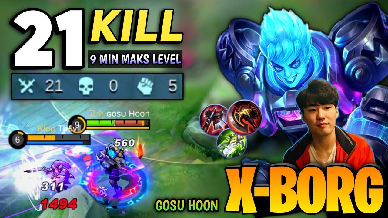 Download War Axe still XBorg Best Build? 21 Kills 0 Death [ Top Global X.borg ] By Gosu Hoon - Mobile Legends