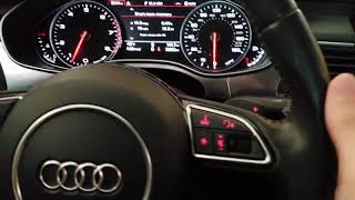 2014 Audi A6 tips and tricks