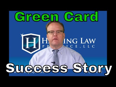 Green card success story at St. Louis immigration office