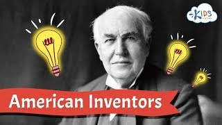 American Inventors | Samuel Morse, Alexander Graham Bell, Thomas Edison and brothers Wright Video