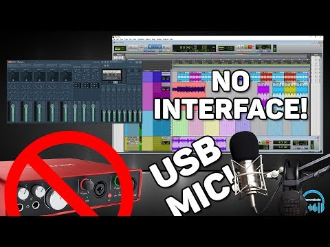 Use Pro Tools Without ASIO Interface & Record USB Mic (ANY ASIO DAW)