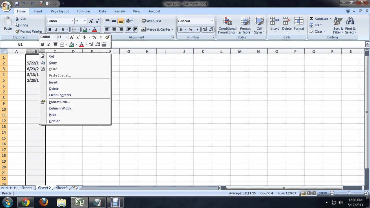How to Format Dates in Descending Order in Microsoft Excel : Tech Niche