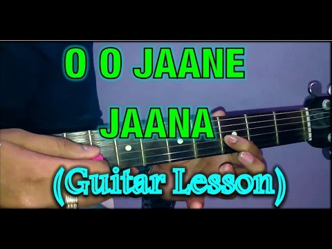 O O Jaane Jaana Guitar Lesson-part-1 Salman Khan- Guitar Tutorial ...
