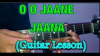 O O Jaane Jaana Guitar Lesson- Salman Khan- Guitar Tutorial- VGuitarLearning