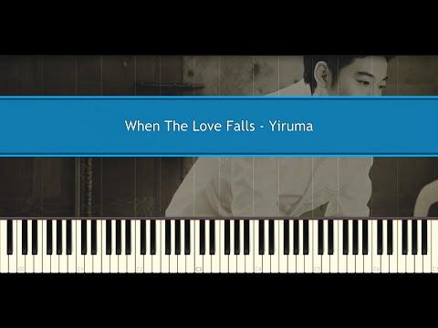 When The Love Falls - Yiruma (Piano Tutorial)