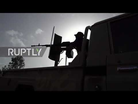 Libya: Smoke and destruction as GNA and LNA forces clash near Tripoli