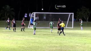 OFC CHAMPIONS LEAGUE PRELIMINARY 2014   LUPE O LE SOAGA FC  vs PUAIKURA FC HIGHLIGHTS