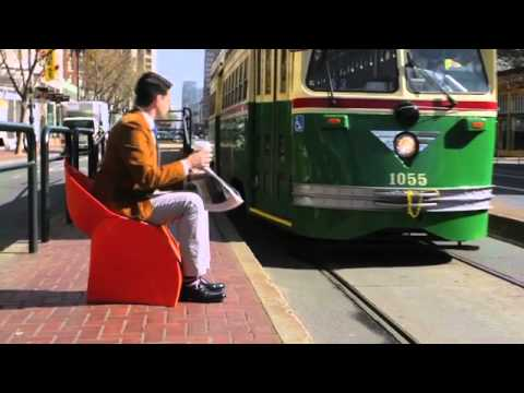 Flux Chair In The Fold By Dwell Youtube