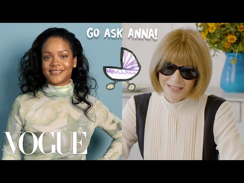 image for Rihanna and Anna Wintour....our new favorite pair