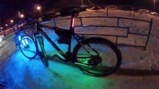 как сделать подсветку на велосипед (часть 2)(мой инстаграм: https://www.instagram.com/oleg_dorokhov_190/ инстаграм Олега: https://www.instagram.com/monster_fill/, 2016-02-01T05:02:41.000Z)