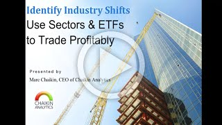 IDENTIFY INDUSTRY SHIFTS | Use Sectors & ETFs to Trade Profitably