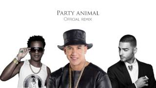 Party Animal (Official Remix) - Charly Black ft. Daddy Yankee & Maluma (Domtec mashup)