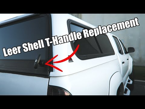 Replace Truck Shell Handles In Less Than 5 Min Youtube