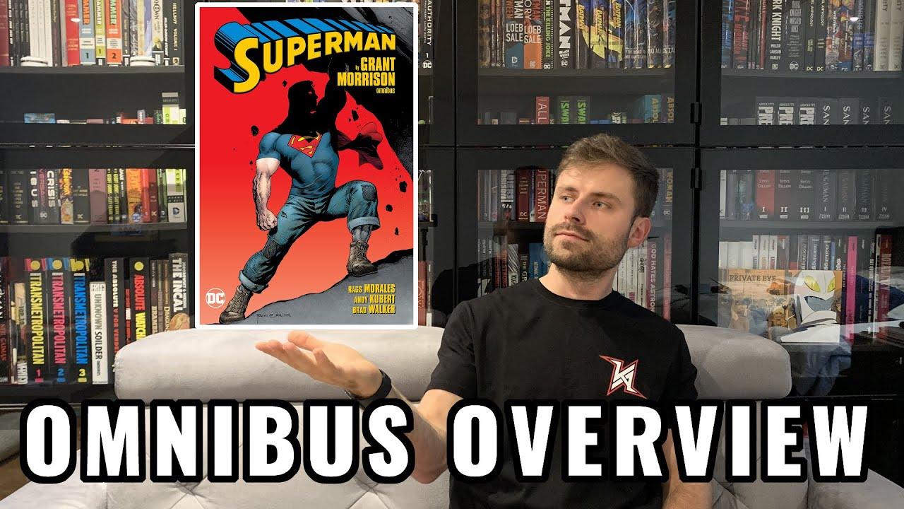 SUPERMAN by Grant Morrison Omnibus Reprint