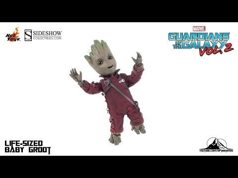 Optibotimus Reviews: Hot Toys Guardians of the Galaxy Vol. 2 Life-Size BABY GROOT