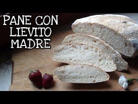 RICETTA PANE CON LIEVITO MADRE - fare in casa il pane con la pasta madre!