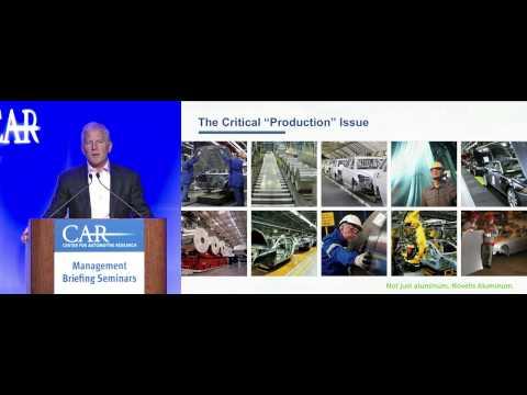 Novelis CEO Highlights Aluminum's Benefits at CAR