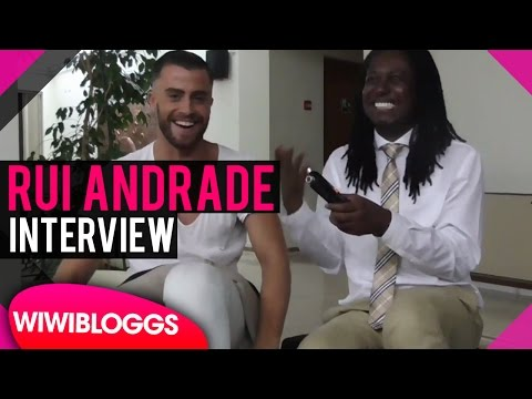 Rui Andrade - Interview @ Setúbal Eurovision Live Concert 2016 | wiwibloggs