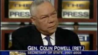 What if he were muslim?  Colin Powell on Muslim Americans.