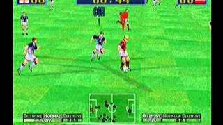 Virtua Striker 2 ver 2000.1 (Dreamcast) - International Cup (England)