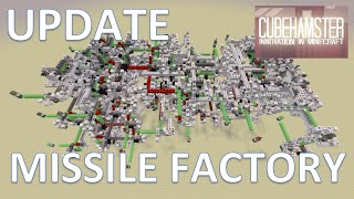 Update: Missile Assembly Factory in Minecraft [Work in Progress]