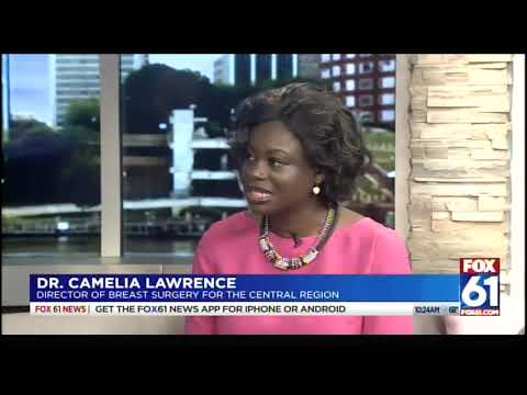 Dr  Camelia Lawrence – FOX 61 – MidState Breast Center