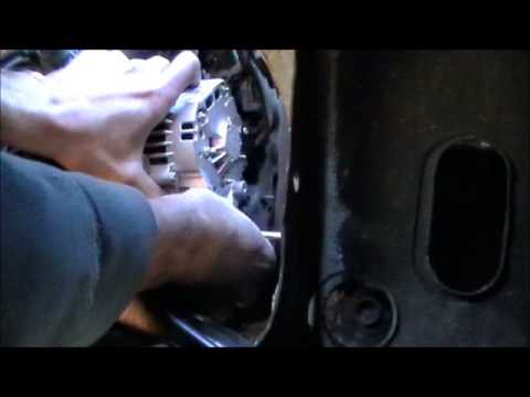 DIY Change 1994 Nissan Alternator - YouTube: 1996 Nissan Pathfinder Alternator Wiring Diagram at e-platina.org