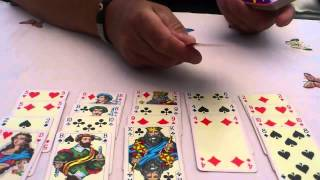 "How to play ""Poker Solitaire"""