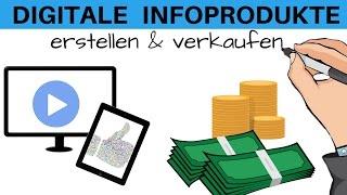 Digitale Infoprodukte erstellen & vertreiben - Online Geld verdienen mit Videokursen, ebooks & Co.