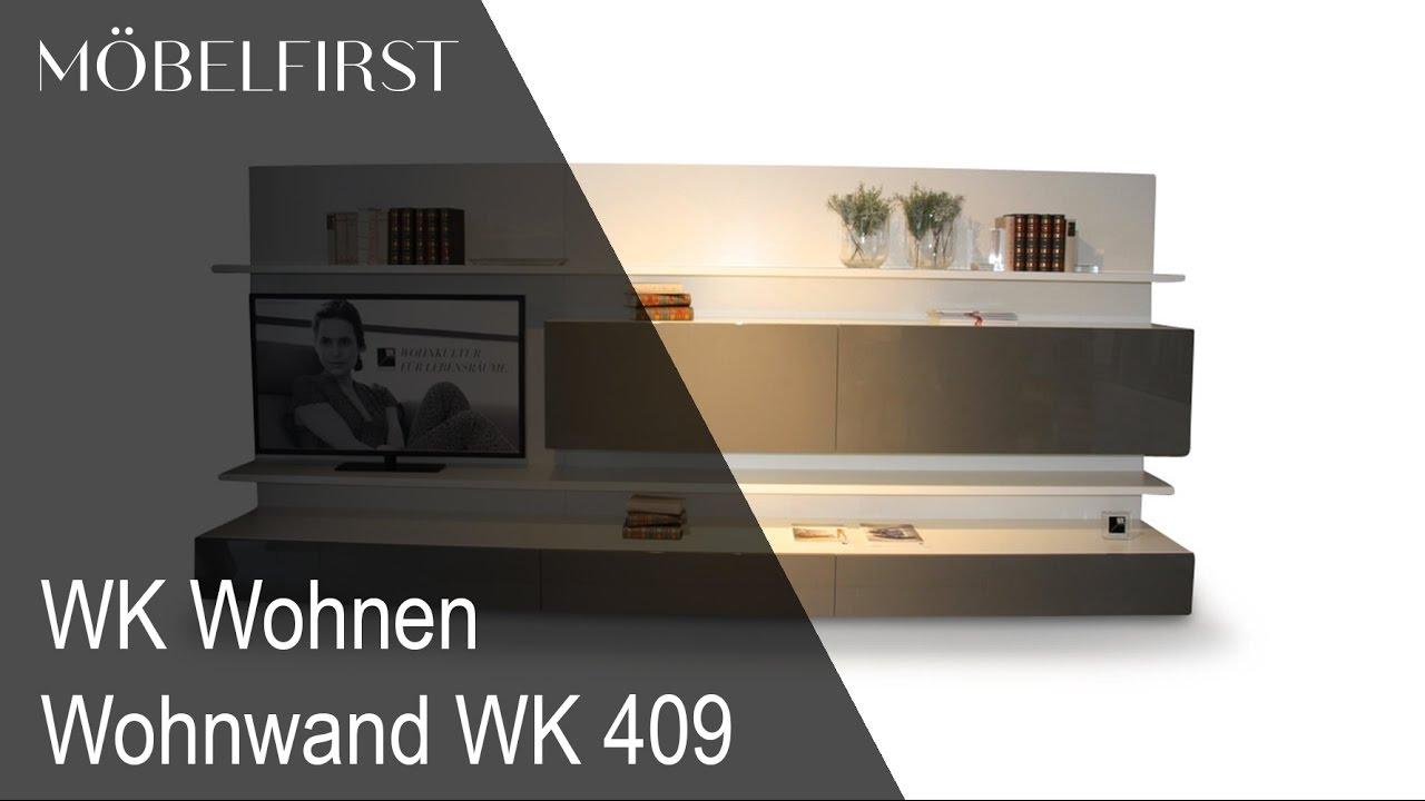Designermobel Wohnwand Von Wk Wohnen Mobelfirst Prasentiert