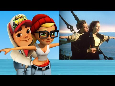 Subway Surfers in Real Life TITANIC MOVIE